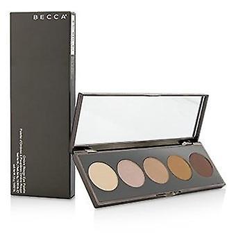 Paleta de ojos Becca Ombre Rouge (5 x sombra de ojos) - 5x1.6g/0.057oz