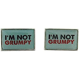 Grumpy Git Gents Novelty Cufflinks