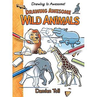Ritning Awesome vilda djur (ritning är Awesome!)