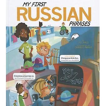 Minhas primeiras frases russos