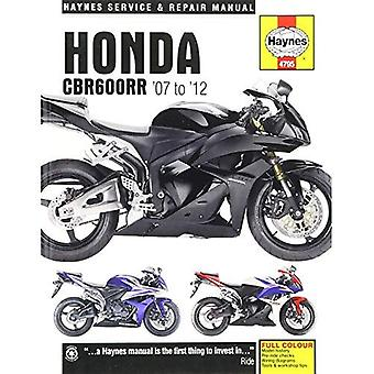 Honda CBR600RR motorfiets reparatie handleiding
