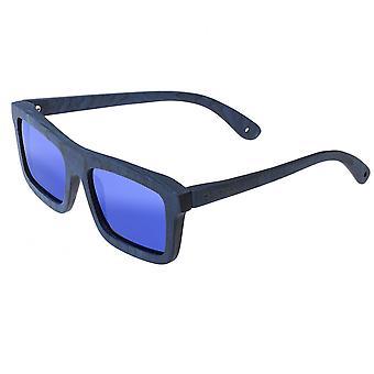 Spektrum Knox Holz polarisierte Sonnenbrille - blau/blau