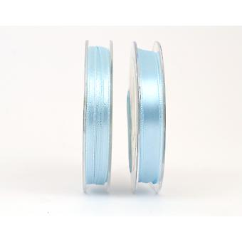 10mm Baby Blue Polyester Satin Craft Ribbon - 10m | Ribbons & Bows for Crafts