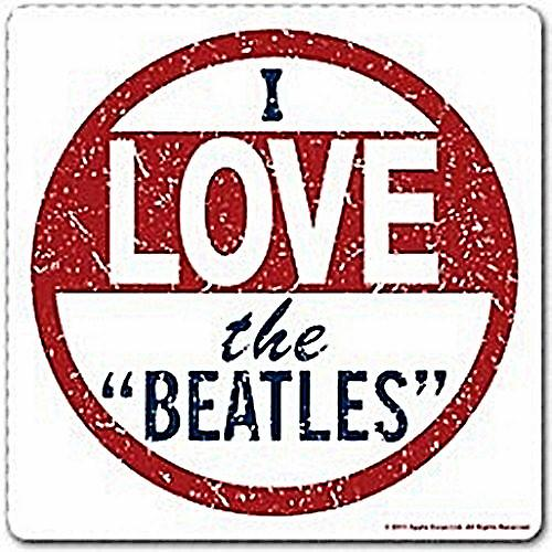Beatles I Love The Beatles drinks mat / coaster (ro)