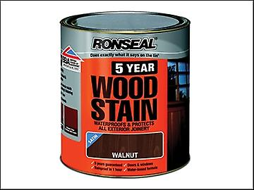 Ronseal 5 Year Woodstain Walnut 2.5 Litre