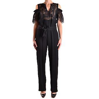 Pinko Black Nylon Jumpsuit