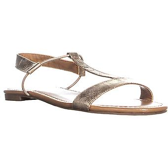 Style & Co. Womens Kristiee Leather Open Toe Casual Slingback Sandals