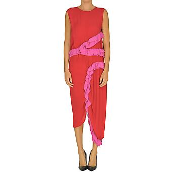 Marni Red Cotton Jumpsuit