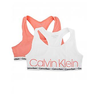 Calvin Klein Two Pack Of Classic Logo Bralettes
