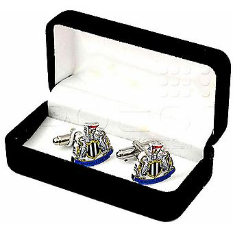 Newcastle Utd FC Crest Cufflinks in presentation box (spg)