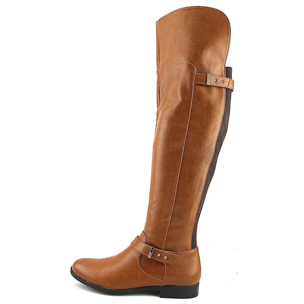 abdb16d90b059 Bar III Womens Daphne Closed Toe Over Knee Riding Boots
