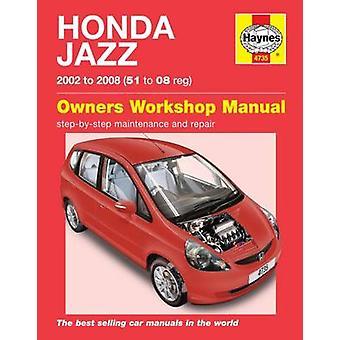 Honda Jazz Service and Repair Manual - 9780857339775 Book