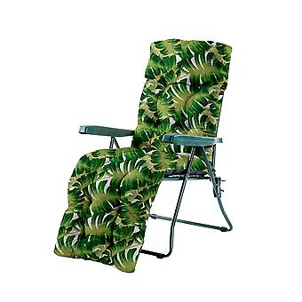 Gardenista® Water Resistant Palm Tufted Relaxer Chair Cushion