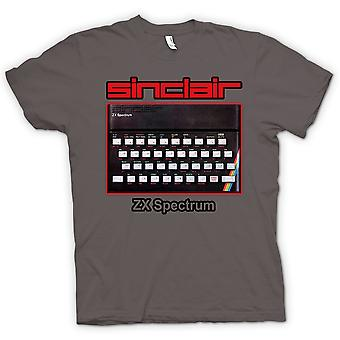 Herre T-shirt - Sinclair ZX Spectrum 80 'er - computerspil