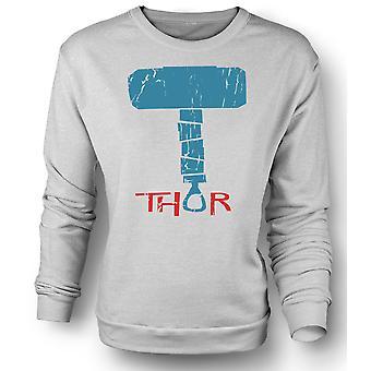 Womens Sweatshirt Hammer Of Thor