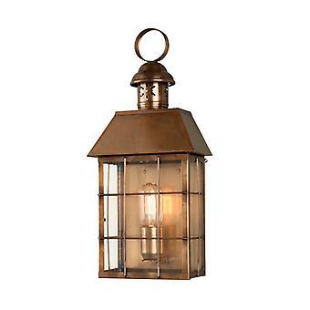 Hyde Park Wall Lantern Brass