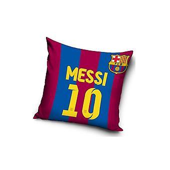 FC Barcelona Lionel Messi fylld kudde