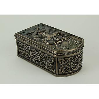 Cernunnos Celtic Horned God Of Animals And The Underworld Trinket Box