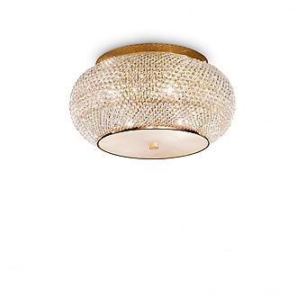 Idéal Lux Pasha 6 Bulb Surface Spotlight Or