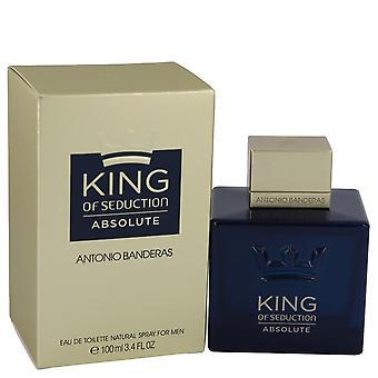 King Of Seduction Absolute Eau De Toilette Spray By Antonio Banderas 100 ml