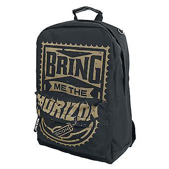 Bring Me The Horizon Backpack Bag Gold Stamp Band Logo new Official Back