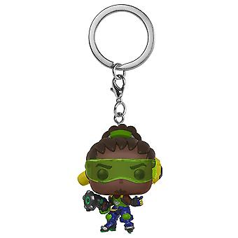 Overwatch Lucio Pocket pop! Nøglering