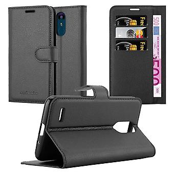 Cadorabo Case for LG K9 Case Cover - Phone Case with Magnetic Closure, Stand Function and Card Case Compartment - Case Cover Case Case Case Case Book Folding Style