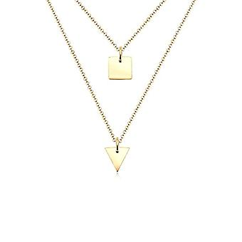 Elli Women's Necklace Plated Yellow Gold