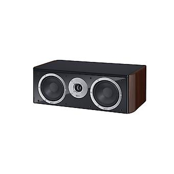Heco music style Center 2, 2 way bass reflex Center speaker, color: espresso, 1 piece new goods