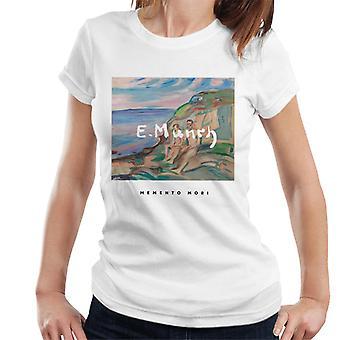 A.P.O.H Edvard Munch Beach Painting Memento Mori Women's T-Shirt