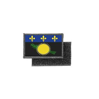 Patch ecusson imprime badge drapeau guadeloupe gwada