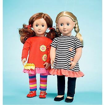 Clothes For 18 Doll  One Size Only Pattern K3965