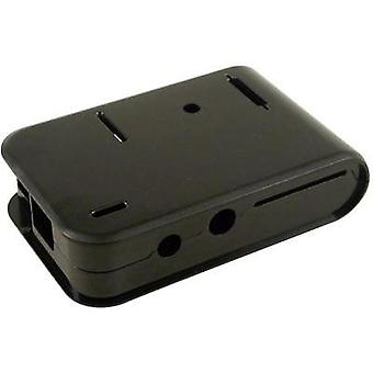 Raspberry Pi® enclosure Black 1593HAMPIBK Raspberry Pi®