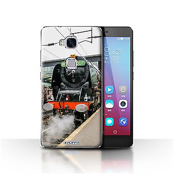 STUFF4 Case/Cover for Huawei Honor 5X/GR5/Duchess/Platform/Steam Locomotive