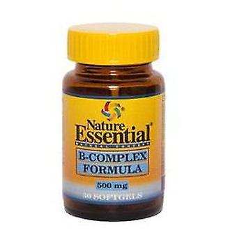 Nature Essential B-Complex Formula 500 Mg. 30 pearls