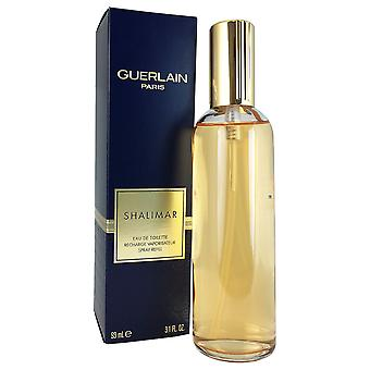 Shalimar for Women by Guerlain 3.1 oz EDT Spray REFILL