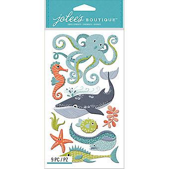 Jolee's Boutique Dimensional Stickers-Ocean Animals E5050902