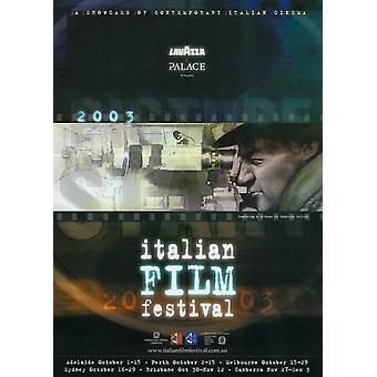 Italiaanse Film Festival film Poster Print (27 x 40)