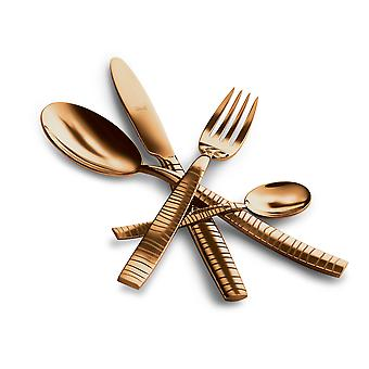 Mepra Tigre Oro 24 pcs flatware set