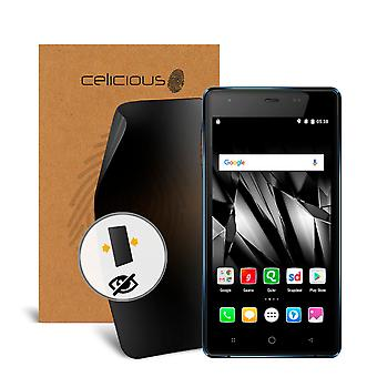 Celicious Privacy Micromax Canvas Spark 4G Q4201 2-Way Visual Black Out Screen Protector