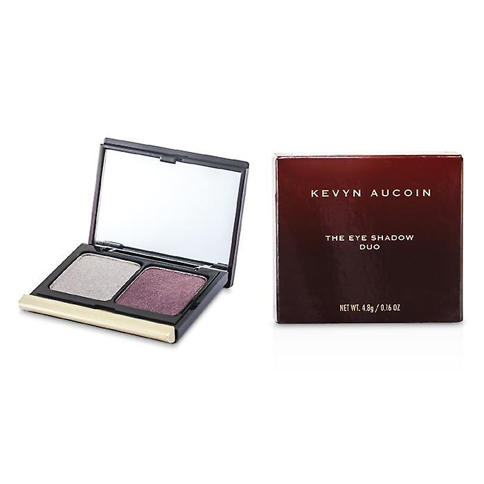 Kevyn Aucoin The Eye Shadow Duo - # 201 Antique Silver/ Plum Shimmer 4.8g/0.16oz