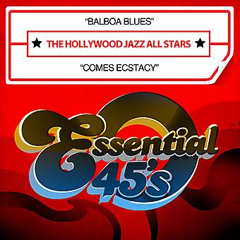 Hollywood Jazz All Stars - Balboa Blues / Comes Ecstacy USA import