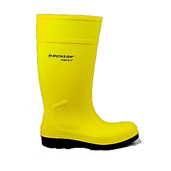 Dunlop C462241 Mens Purofort Full Safety Standard Wellingtons Self Lined Slip On