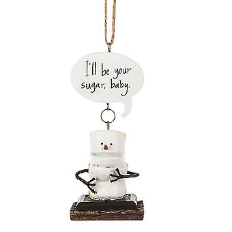Toasted Smores Be Your Sugar Baby Christmas Holiday Ornament
