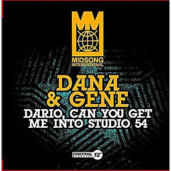 Dana & gen - Dario kan du få mig in i Studio 54 [CD] USA import