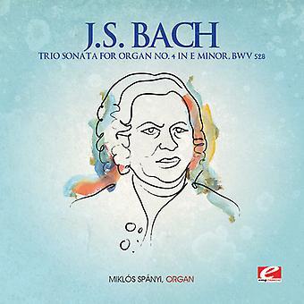 J.S. Bach - J.S. Bach: Trio Sonata Organ No. 4 in E Minor, Bwv 528 [CD] USA import