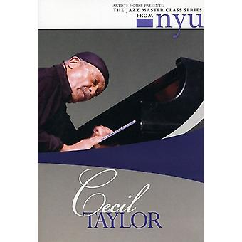 Cecil Taylor - Jazz Master Class Series From Nyu [DVD] USA import