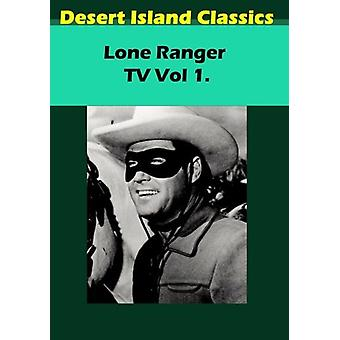 Lone Ranger TV 1 [DVD] USA import