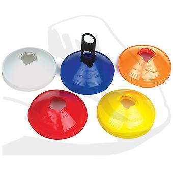 Precision Training Saucer Cones Assorted Colours