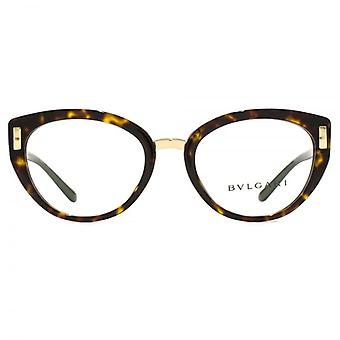 Bvlgari BV4139 Glasses In Dark Havana